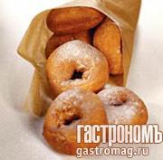 Рецепт Пончики с апельсиновым соусом