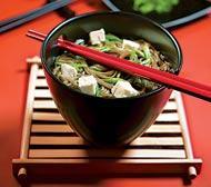 Рецепт Гречневая лапша с тофу