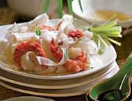 Рецепт Соевая лапша с креветками