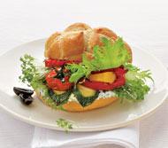 Рецепт Овощной гамбургер