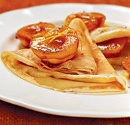 Рецепт Крепы с карамелизированными абрикосами