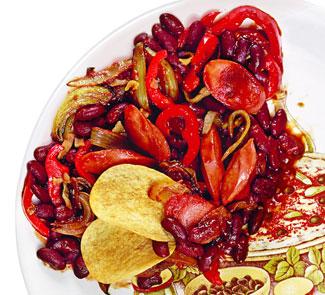 Рецепт Чили с сосисками