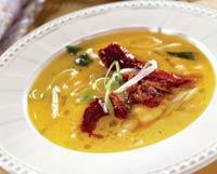 Рецепт Суп из нута с вялеными томатами