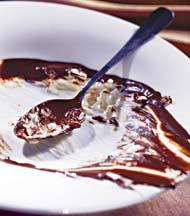 Рецепт Ризотто с сыром маскарпоне и горьким шоколадом