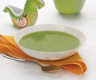 Рецепт Крем-суп из горошка с мятой и лимоном