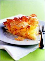 Рецепт Пирог с яблоками и манго
