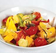 Рецепт Салат из запеченных овощей