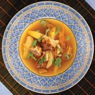 Рецепт Суп из утки с мочеными яблоками