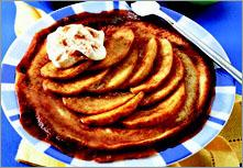 Рецепт Блинчики с яблоками