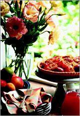 Рецепт Сливовый пирог с обсыпкой