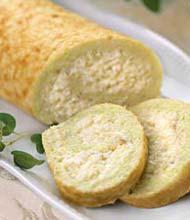 Рецепт Сырный рулет с сельдереем