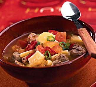 Рецепт Венгерский суп-гуляш