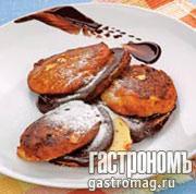 Рецепт Холодные сырники с шоколадной помадкой