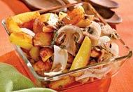 Рецепт Картофель с грибами и тимьяном