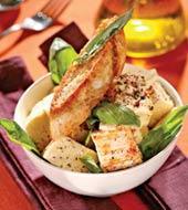Рецепт Брынза с зеленью и оливковым маслом