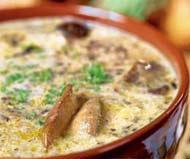 "Рецепт Суп из белых грибов ""Кларика"""