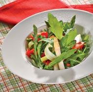 Рецепт Теплый салат из спаржи