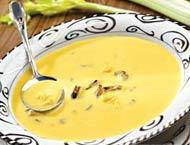 Рецепт Суп-пюре из кукурузы с мидиями
