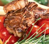 Рецепт Баранина в винно-луковом маринаде с луковым соусом