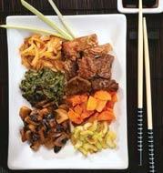 Рецепт Говядина с овощами в японском стиле