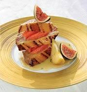 Рецепт Свиное филе-миньон с инжиром и мускатом
