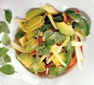 Рецепт Салат из авокадо с сыром