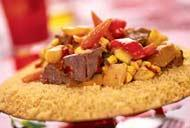 Рецепт Кускус с говядиной и овощами