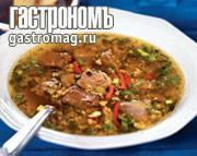 Рецепт Магирица, греческий пасхальный суп