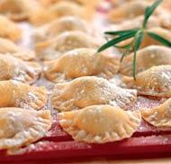 Рецепт Равиоли с сырной начинкой