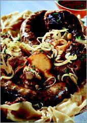 Рецепт Бешбармак (мясо по-казахски)