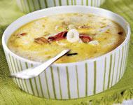 Рецепт Молочный суп с морепродуктами