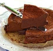 Рецепт Шоколадный торт с кардамоном