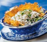 Рецепт Весенний турецкий пилаф со свежей зеленью
