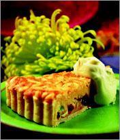 Рецепт Песочный торт с орехами и изюмом
