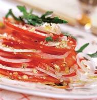 Рецепт Закуска из помидоров с орехами