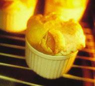 Рецепт Суфле с сыром и ветчиной