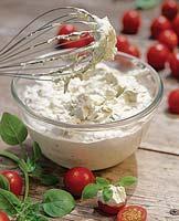 Рецепт Крем из базилика с томатами черри
