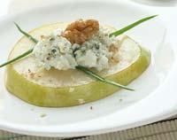 Рецепт Груши с кремом из рокфора