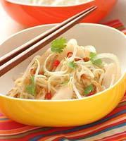 Рецепт Тайский салат с курицей и грушей