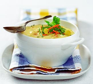 Рецепт Суп карри с цветной капустой
