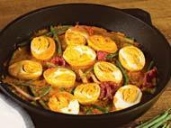 Рецепт Яйца под соусом карри