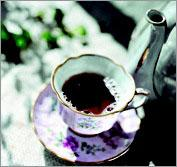 Рецепт Чай со смородиной по-уральски
