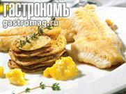 Рецепт Жареная рыба с соусом айоли