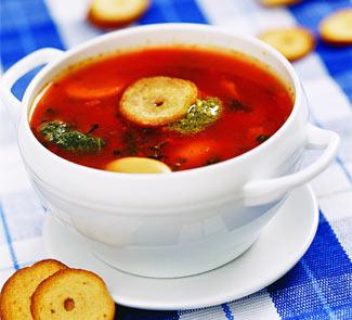 Рецепт Зимний вегетарианский суп