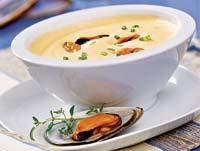 Рецепт Крем-суп из мидий