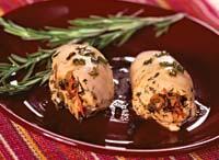 Рецепт Фаршированные куриные грудки с розмарином