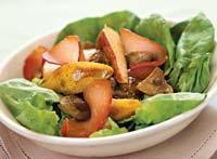 Рецепт Салат из груш с шампиньонами