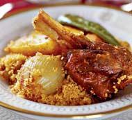 Рецепт Кускус с мясом и овощами