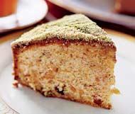 Рецепт Пирог с орехами и изюмом
