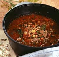 Рецепт Густой суп с овощами